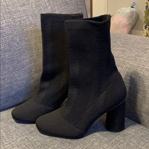 Shoes - Knit Booties - BRAND NEW